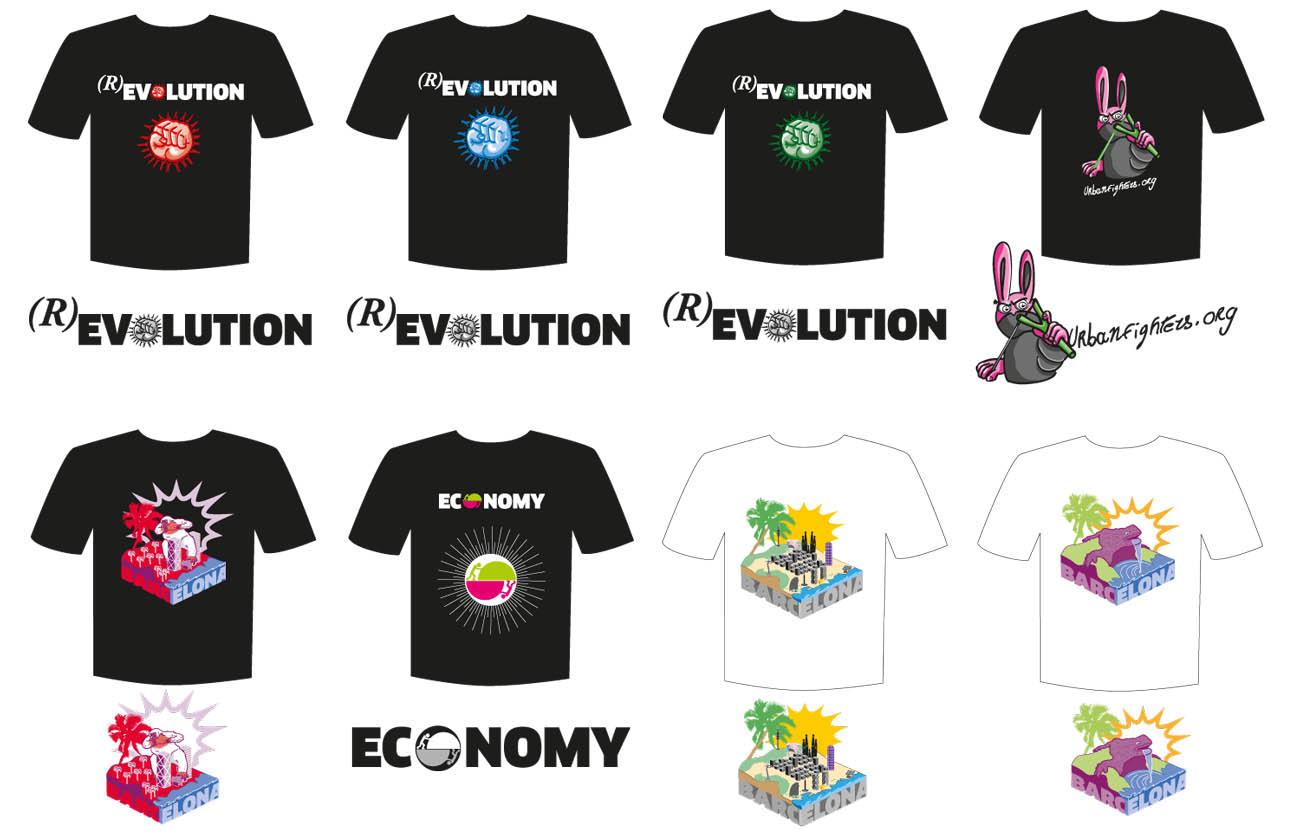 ilustracion-varios-camisetas
