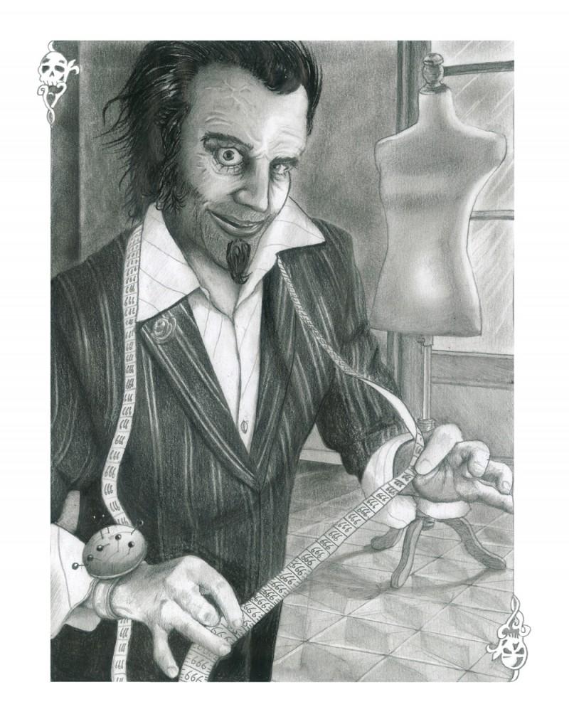 Série de 9 illustrations au crayon de papier 15 x 21 cm. pour le livre : Luxifer, pourquoi le luxe nous possède de Nicolas Chemla aux éditions Séguier