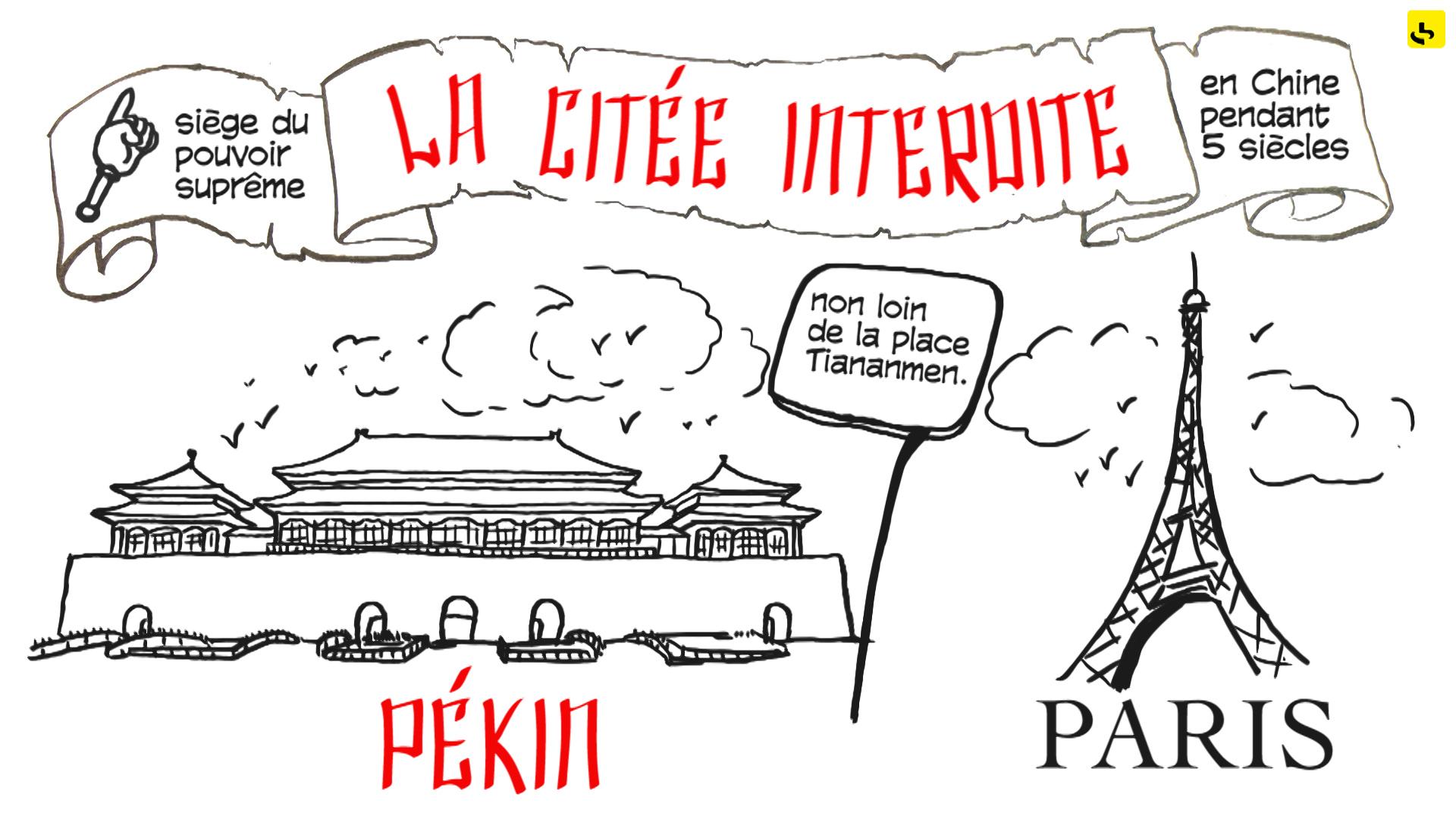 """La cité interdite. création d'une animation hebdomadaire pour le web site du programme """"Expliquez-nous"""" de France info"""