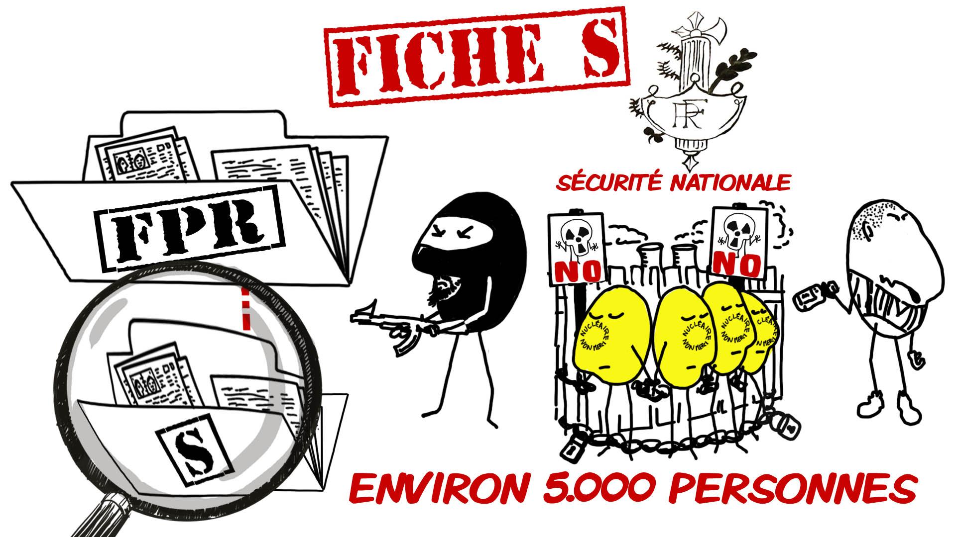 """Expliquez-nous... La fiche S. création d'une animation hebdomadaire pour le web site du programme """"Expliquez-nous"""" de France info"""