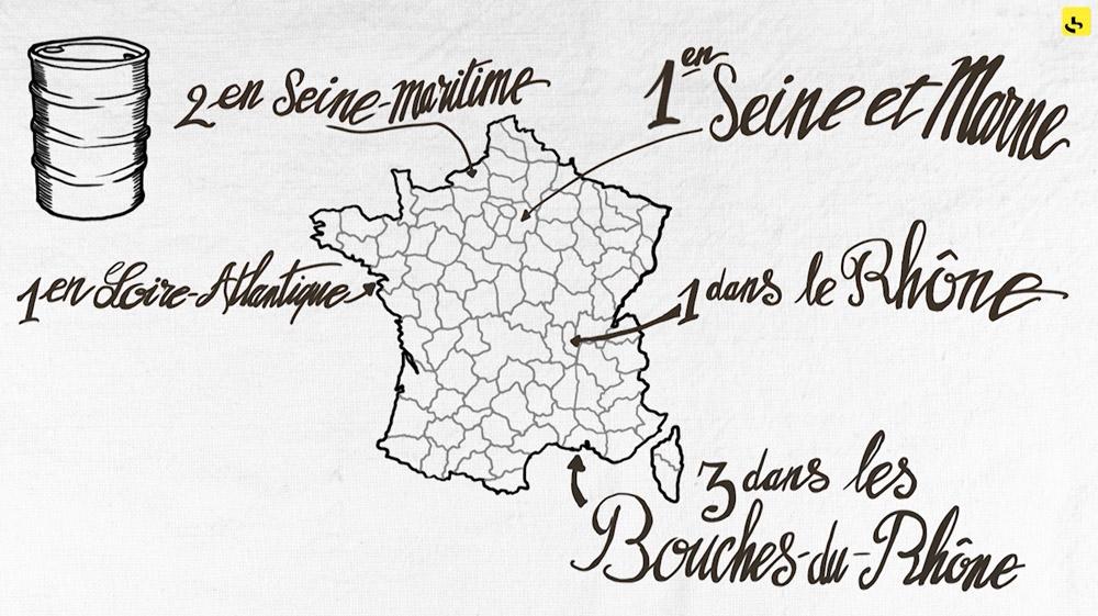 """Comment fonctionne l'approvisionnement en carburant en France ? création d'une animation hebdomadaire pour le web site du programme """"Expliquez-nous"""" de France info"""