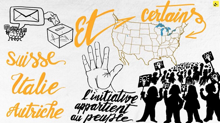 """Un référendum d'initiative populaire, c'est quoi ? création d'une animation hebdomadaire pour le web site du programme """"Expliquez-nous"""" de France info"""