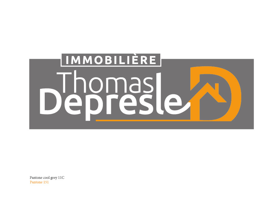 Création du logo Thomas Depresle-version rectangle