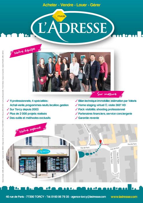 flyers A5 pour agence immobilière