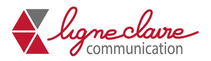 Création du logo de ligne claire communication