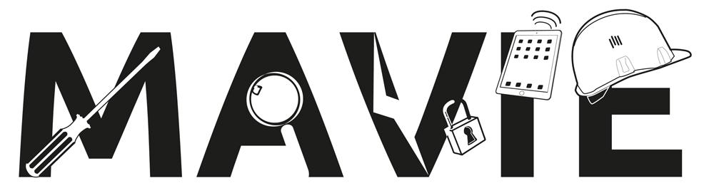 création du logo MAVIE pour enedis
