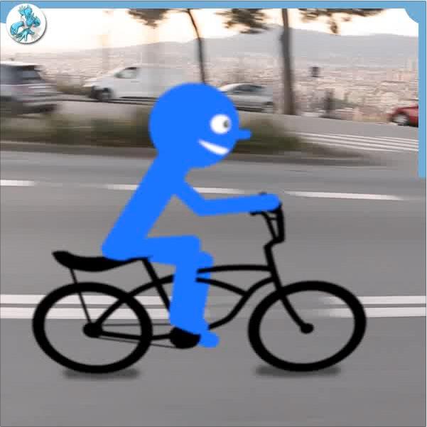 Video scribing éclair exemple pour promouvoir l'usage du velo