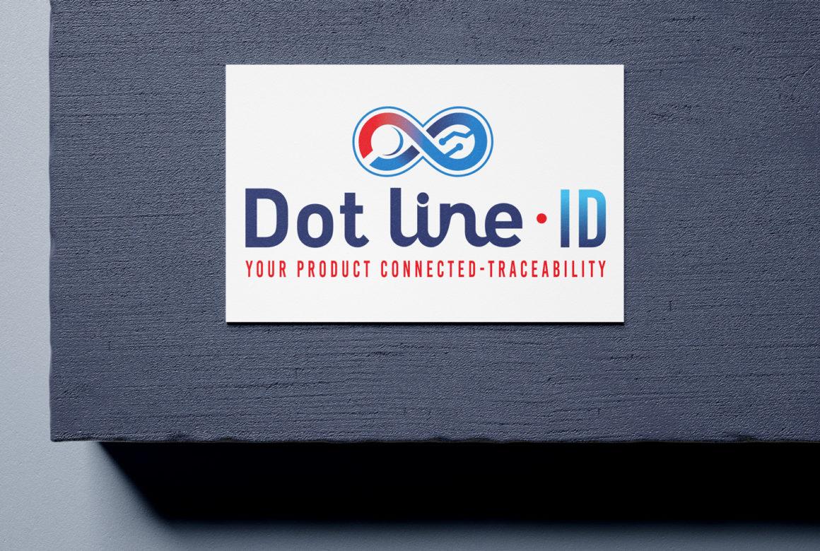 Création de logo pour Dot line-ID
