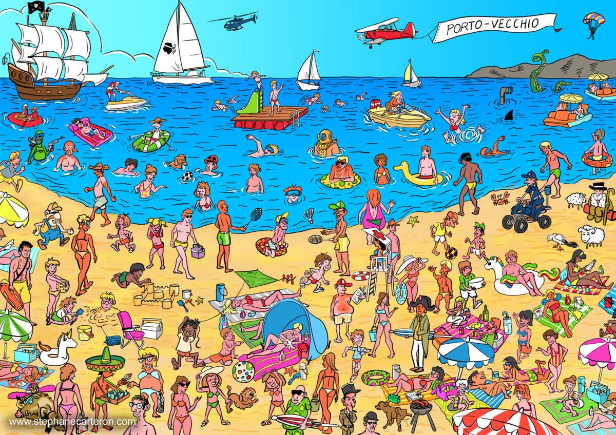 Illustrations jeunesse pour livre d'activités
